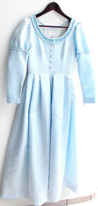Damen Trachten Kleid hellblau Gr. 36 v. Edith Moden