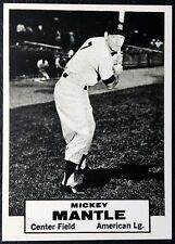 1961 Topps Dice Game Mickey Mantle - Test Series Never Issued Reprint - MINT -