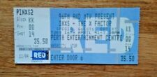TICKET (USED) CONCERT INXS PERTH AUSTRALIA /  16 APRIL 1991 / RARE