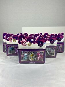 Lot Of 6 MLP My Little Pony 3 Character Collection Sets.