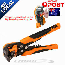 Automatic Wire Cutter Stripper Crimping Tool Pliers Electrical Cable Crimper-NEW