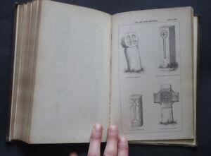 MANUAL FOR STUDY OF SEPULCHRAL SLABS & CROSSES: Sacred Stones / Symbols / 1849