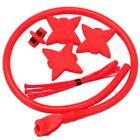 New TruGlo Archery Bow Accessory Kit Red w/ Peep Loop Kisser Silencers TG601B