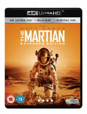 The Martian Extended Edition Blu-ray DVD Region 2
