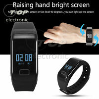 Smart Watch Tracker Sport Waterproof Heart Rate Health For IOS Android