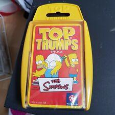 THE SIMPSONS :  QUARTETTSPIEL - TOP TRUMPS SPECIALS