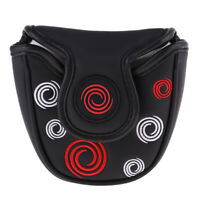 Magnetic Closure Head Cover Golf Mallet Putter Headcover Guard Protector