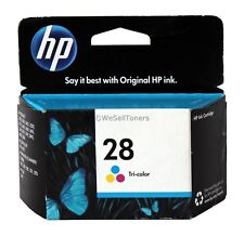 Genuine HP 28 Tri-Color Ink Cartridges Sealed C8728A For Deskjet 3650 3740