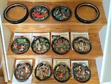 10 Braden Russian Legends Fairy Tale Collector Firebird plates 1990