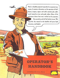 Caterpillar Earthmoving Equip Operators Handbook 1950s