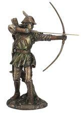 "12"" Robin Hood Shooting Arrow Statue Figure Figurine Sculpture Home Decor"