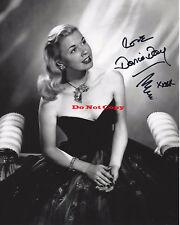 ACTRESS DORIS DAY autographed 8x10 photo RP