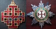 Ordre Equestre du Saint-Sépulcre de Jérusalem (Croix + Etoile) - Vatican