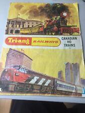 Triang Railways Canadian 1967 Catalogue