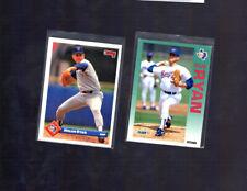 NOLAN RYAN 1993 DONRUSS and 1992 Fleer CARD Lot Texas Rangers HOF Baseball