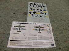 Eagle Strike  decals 1/48 48120 BF109s in the Balkans Part I  BF 109E    N122