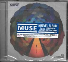 CD 11 TITRES MUSE THE RESISTANCE NEUF SCELLE 2009 WITH FRENCH STICKER