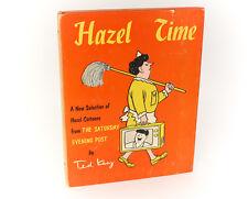 Ted Key  'Hazel Time'  E.P. Dutton & Co. 1962. 1st Ed, Signed w/ cartoon
