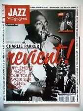 JAZZ MAGAZINE #556 Archie Shepp,Steve Coleman,Patty Waters,Free America (revue)