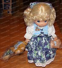 """Goldilocks & 3 Bears, Nursery Rhyme (Precious Moments, 1303A) 12"""" Doll, 2003"""