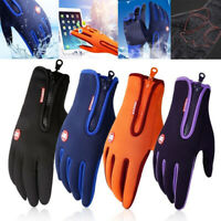 Winter Warm Windproof Gloves Waterproof Gloves Touch Screen Bikes Motorcycle SK