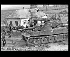 1943 German Troops Tiger Tank PHOTO Kursk World War 2 Soldiers Germany