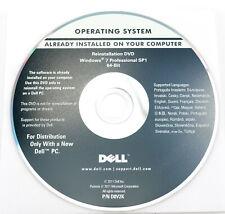 Dell Reinstallation DVD Windows 7 Professional 64-bit - System Recovery -Deutsch