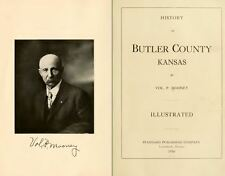 1916 BUTLER County Kansas KS, History and Genealogy Ancestry Family Tree CD B02