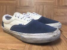 ac036611c6ec91 RARE🔥 VANS Authentic PRO Navy White Suede Sz 9.5 Men s Skateboarding Shoes