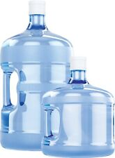 More details for 1x 19litres & 1x 11litres empty bottle with cap. dispenser not included.