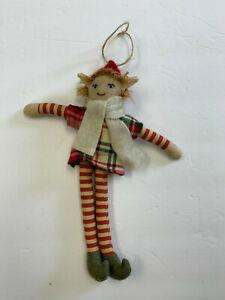 Pottery Barn Jolly the Long Leg Elf Ornament