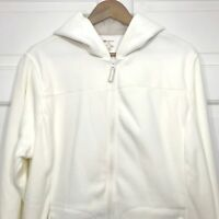 SJB Active Mens 2XL Cream Long Sleeve Hoodie Fleece