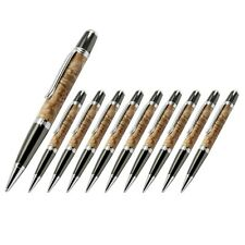 Viceroy Pen Kit, Chrome and Gun Metal Finish, Pack of 10, Legacy Woodturning