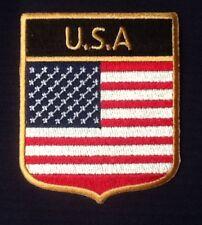 EE.UU. EEUU ESTADOS UNIDOS AMÉRICA Campo Bandera Insignia Iron Parche para coser