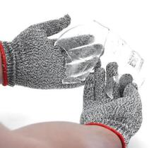 Saxton Cut Resistant Work Safety Gloves - High Performance Level 5 Protection