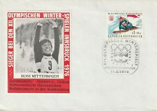 1976 Austria cover 12th Winter Olympic Games Insbruck