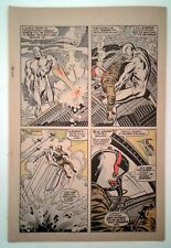 Silver Surfer #1 - single page only -  Key Silver Age Marvel Comic Page PG