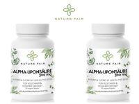 ALA Alpha Liponsäure Antioxidantien Ernergiestoffwechsel 600 mg a 2 Vegane Caps