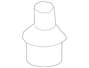 Genuine Ford Upper Ball Joint 8C3Z-3049-B