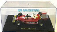 1:43 _ FERRARI 312 T2 Niki Lauda 1976 (con box rigido usato come da foto)