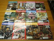 1988 COUNTRY LIVING MAGAZINE COMPLETE YEAR CRAFTS GARDEN DECORATING RECIPES
