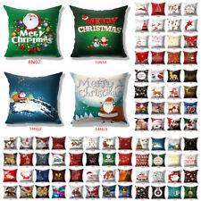 """18x18"""" полиэстер Рождество подушка чехол диван автомобиль диванная подушка обложки домашний декор"""