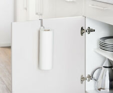 WENKO Küchenrollenhalter Küchenrolle Küchenpapierhalter Rollen Halter Schranktür