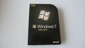Microsoft Windows 7 Ultimate UPGRADE 32/64-bit