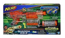Nerf N-Strike Modulus Blaster Ghost Ops Shadow ICS-6 Nerf Gun Spielzeugblaster