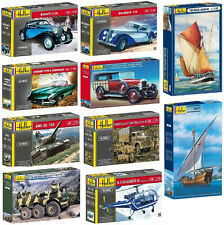 Heller Plastic Model Kits- Mixed