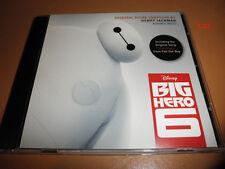 Disney BIG HERO 6 promo ADVANCE soundtrack CD henry jackman ost fall out boy