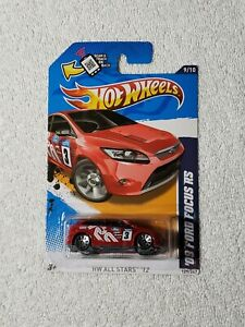 2012 HOT WHEELS HW ALL STARS 09 FORD FOCUS RS
