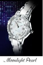 Sekonda Moonlight Pearl TV Advertised Date Moon Light 4674, 2Yr Guar RRP £59.99