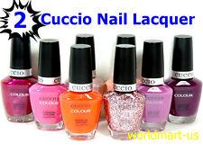 CUCCIO Nail Polish Lacquer Brand New and Genuine Colour 13mL/0.43fl.oz /PART 2